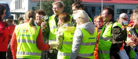 Парамедик.Ру занял 2 место на VIII Международных соревнованиях по первой помощи в Карелии (2007)