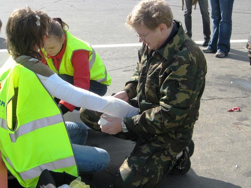 Парамедик.Ру на соревнованиях по первой помощи в Карелии (2007)