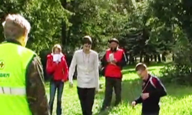 Соревнования по первой помощи в Карелии (2007) — этап Драка