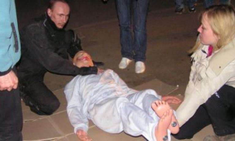 Этап по первой помощи в Ночном Дозоре для команды ND