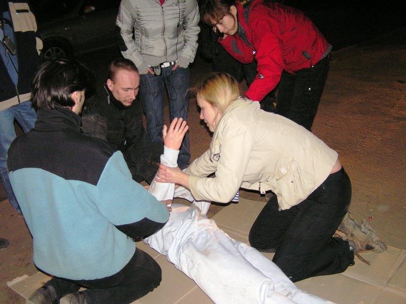 Этап по первой помощи в Ночном Дозоре