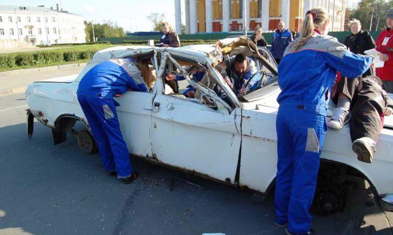 Соревнования по первой помощи в Карелии (2008) — этап Дтп