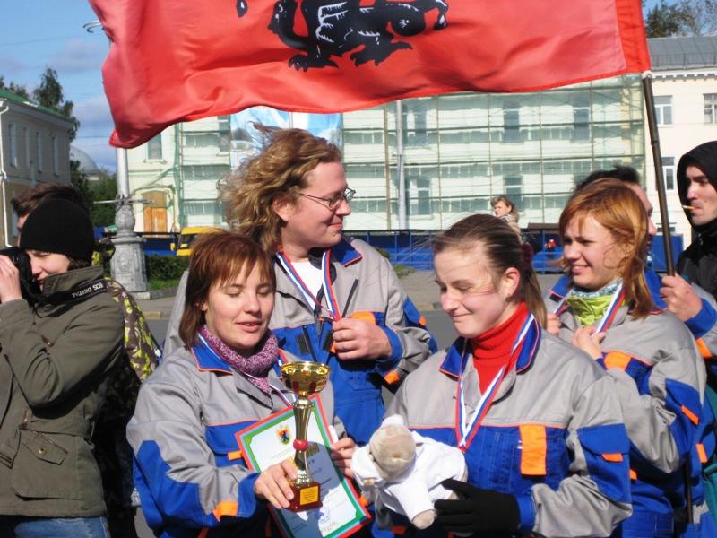 Команда Парамедик.Ру заняла II место на соревнованиях по первой помощи в Карелии (2008)