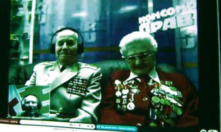 Skype, Комсомольская правда и Российский Красный Крест помогут ветеранам встретиться, невзирая на расстояния