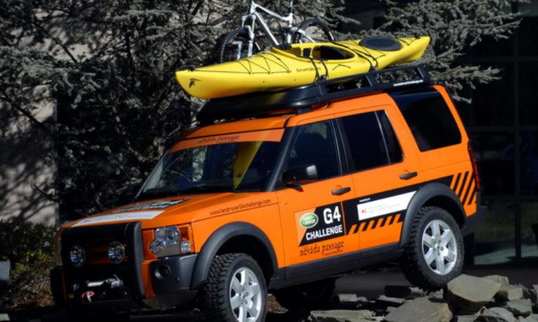 Сотрудничество Международной Федерации обществ Красного Креста и Land Rover G4 Challenge