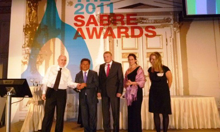 Программа развития донорства выиграла международную премию SABRE Awards 2011