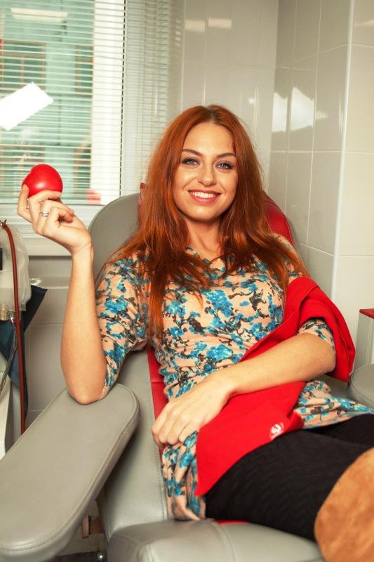Солистка группы Чи-Ли Ирина Забияка поделилась своей кровью