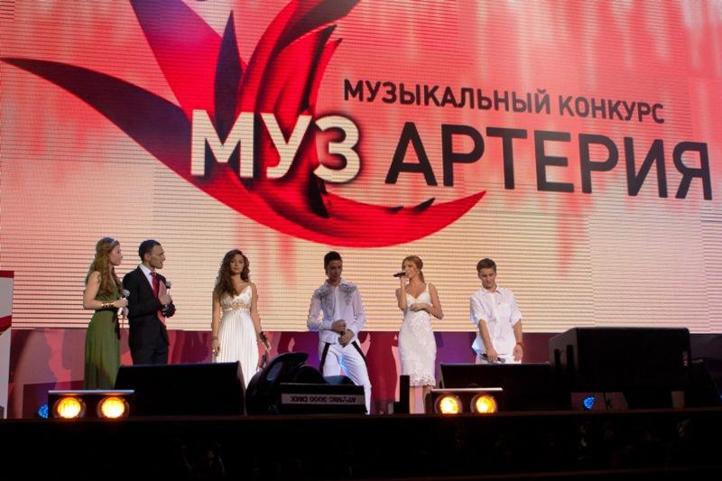 Выступление Натальи Подольской и Михаила Малышева, Алана Субаева на финальном концерте конкурса МУЗАРТЕРИЯ
