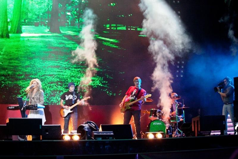 Выступление Ирины Нельсон и Олега Булацкого на финальном концерте конкурса МУЗАРТЕРИЯ