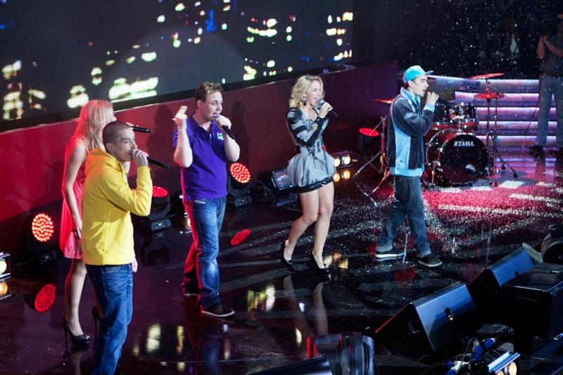 Выступление Юлии Ковальчук и группы Space4 на финальном концерте конкурса МУЗАРТЕРИЯ