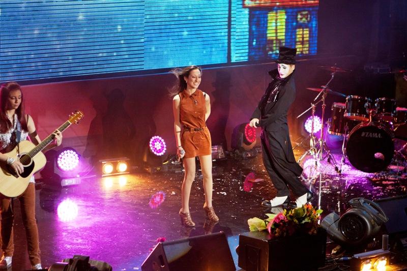 Выступление группы Атаманка на финальном концерте конкурса МУЗАРТЕРИЯ