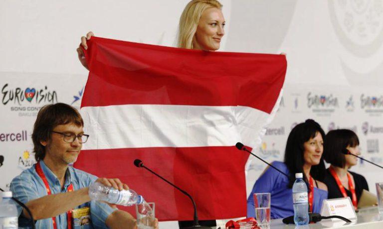 Латвия: вторая пресс-конференция