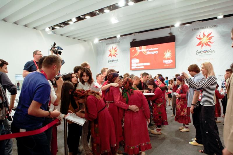 Россия: первая пресс-конференция