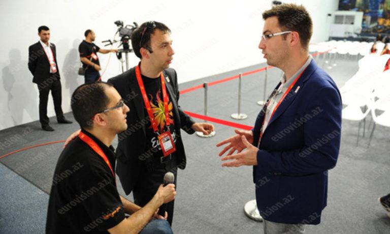 Оглашен рабочий график пресс-центра Евровидения в Баку