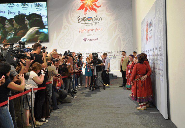Пресс-конференция Бурановских Бабушек