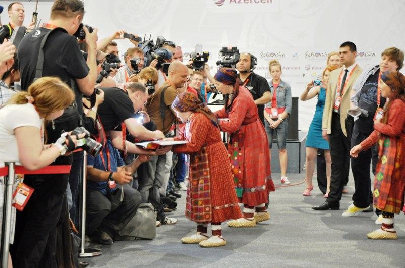 Евровидение 2012. Охрана.
