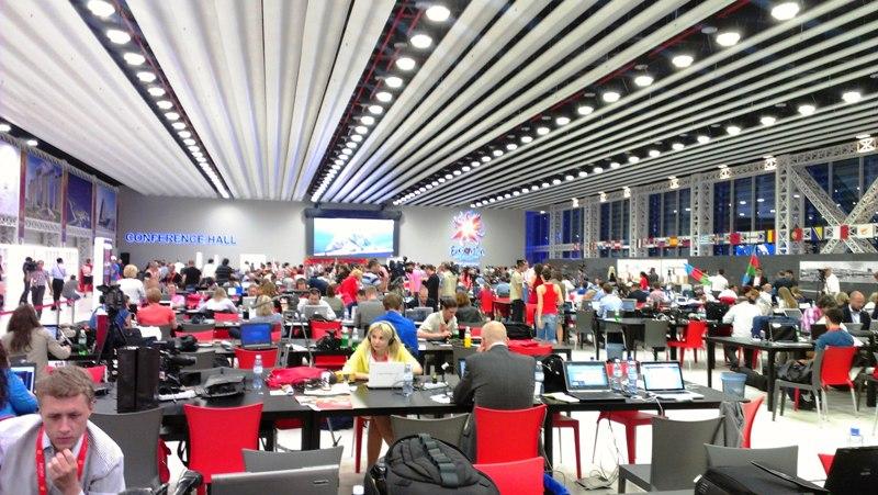 Евровидение 2012. Журналисты.