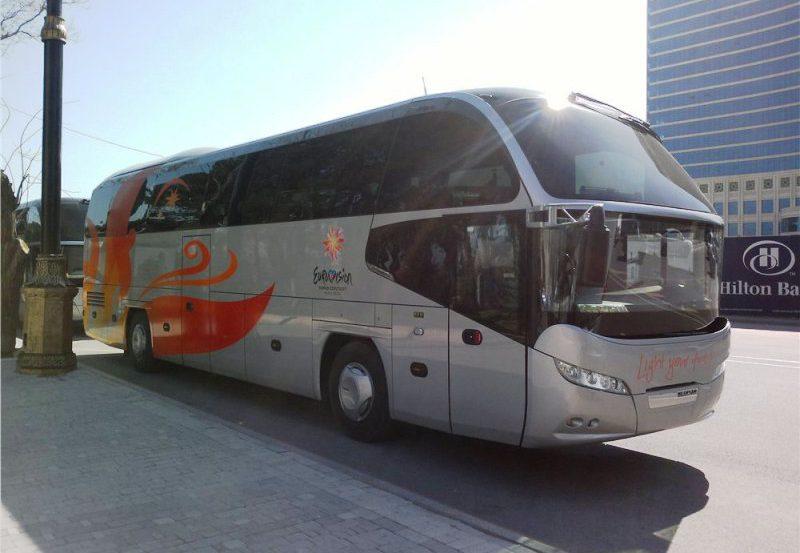 Евровидение 2012. Транспорт.