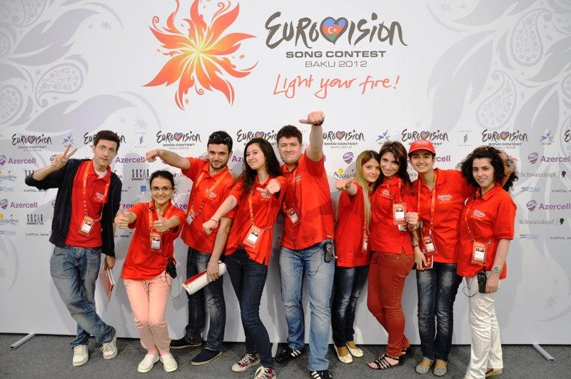 Евровидение 2012. Волонтеры.
