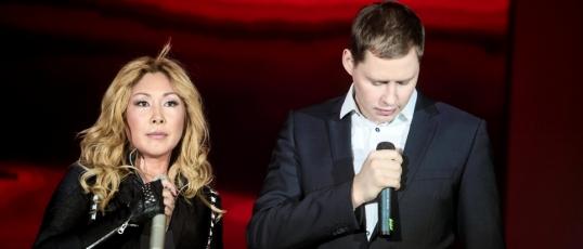 Анита Цой и Иван Федоренко на Форуме Службы крови 2012