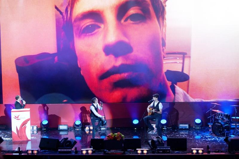 Выступление Артема Горваль, Романа Следнева и Алексея Гомана на финальном концерте МУЗАРТЕРИЯ