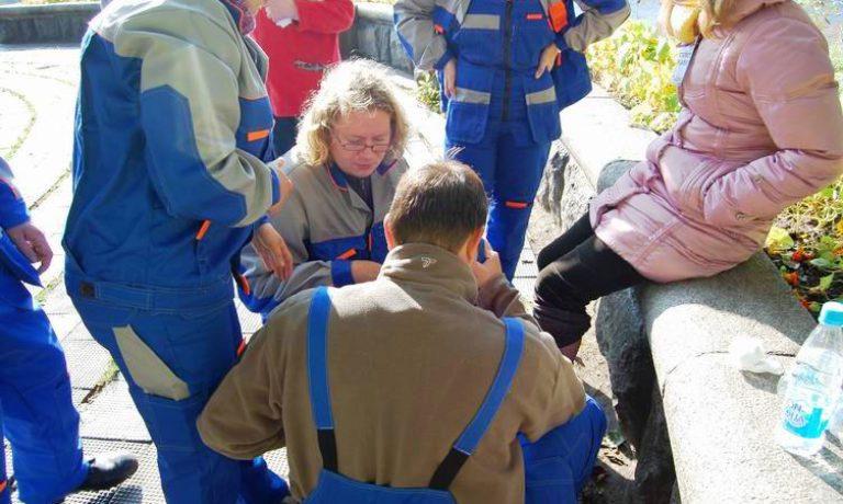 Соревнования по первой помощи в Карелии (2008) — этап Теория