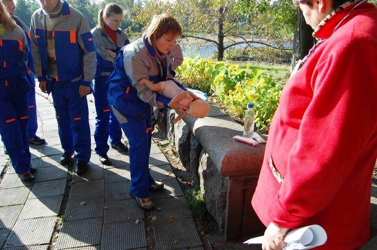 Соревнования по первой помощи в Карелии (2008) - этап Теория