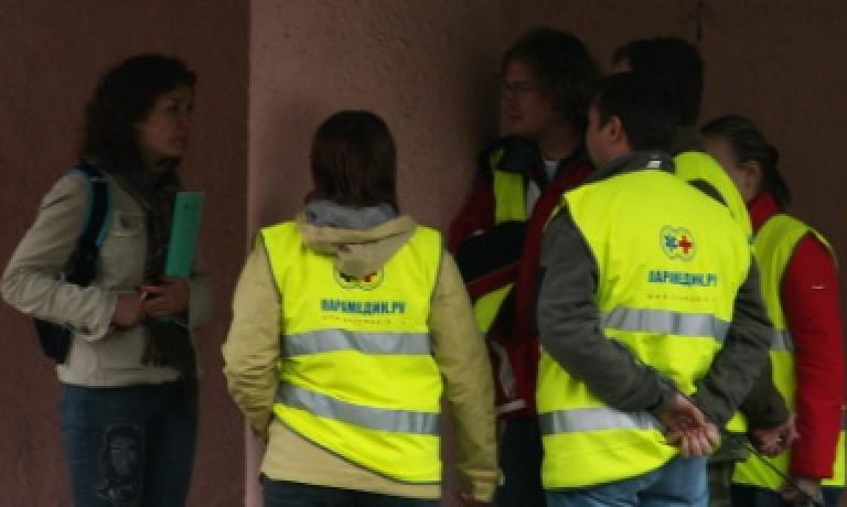 Соревнования по первой помощи в Санкт-Петербурге (2008) — этап Эпилепсия