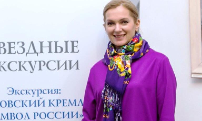 Мария Порошина рассказала гостям музея об истории Ростовского Кремля